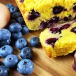 Grain-Free Blueberry Lemon Pound Cake