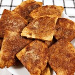 Sweet Cinnamon Cassava Coconut Tortilla Chips