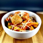 Instant Pot Grain-Free Pasta and Meatballs