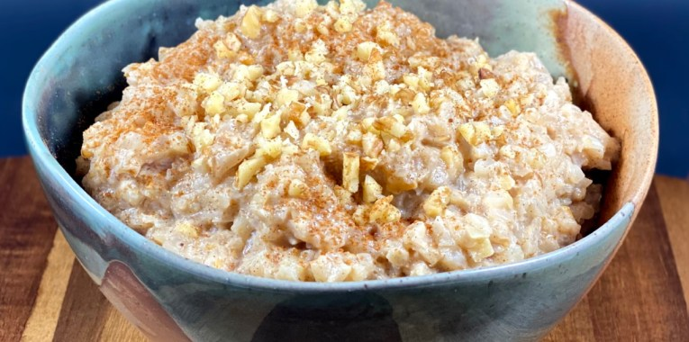 Maple Brown Sugar Cauliflower Porridge