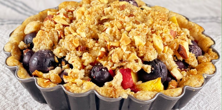Paleo Fruit Crumble Tartlets