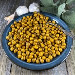 Roasted Garlic Sage Chickpeas