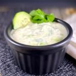 Vegan Coconut Cucumber Raita