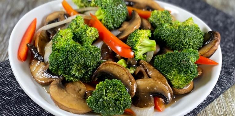 Vegan Beef and Broccoli