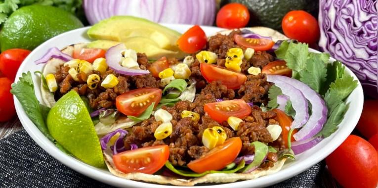 Vegan Chorizo Street Tacos