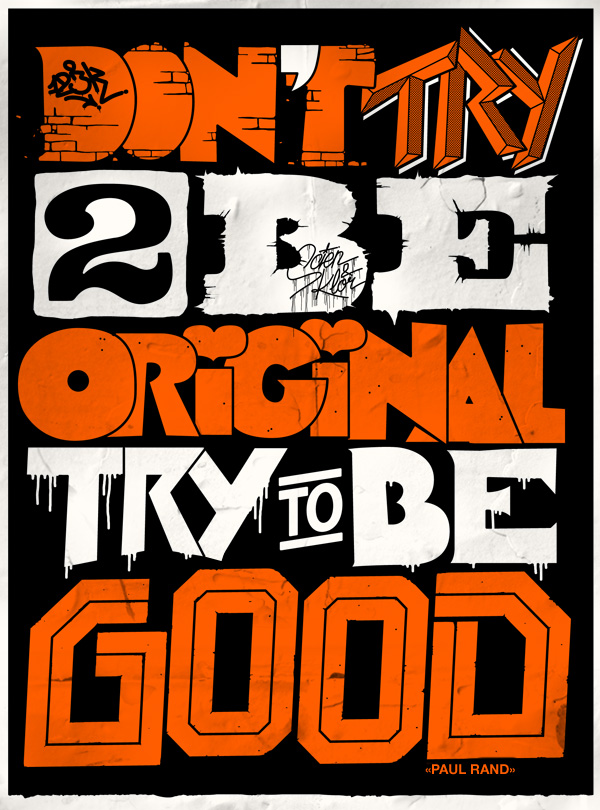 123Klan x Paul Rand