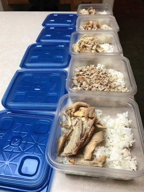 meal prep for success