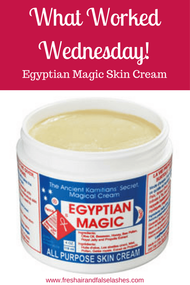 What Worked Wednesday, Egyptian Magic Skin Cream for Women Over 40