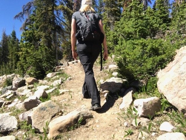 Day Trip Hiking in Utah with video; Fresh Air and False Lashes