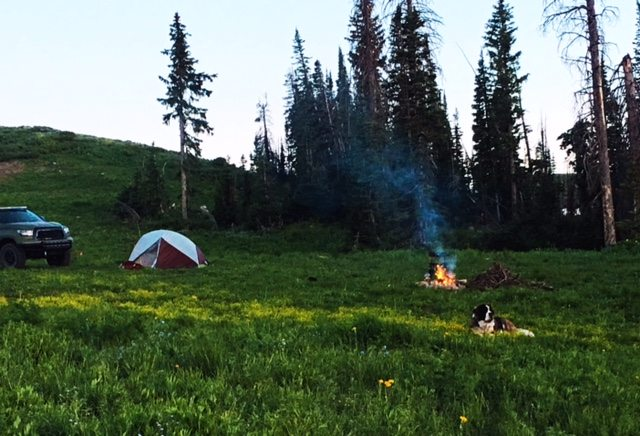 tent camping in utah with video
