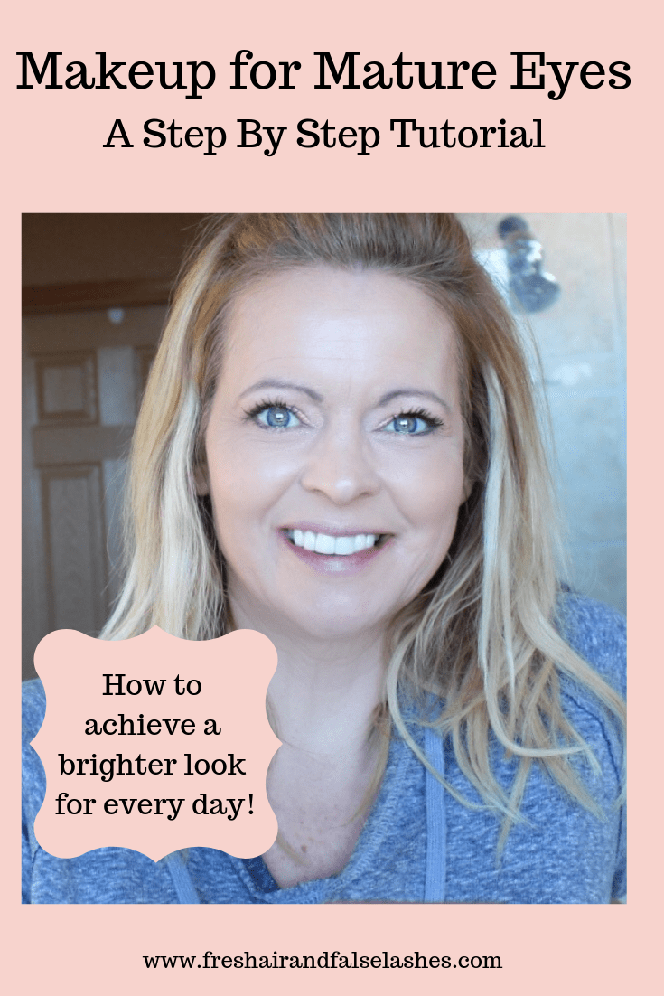 Makeup for our mature eyes! A step by step tutorial for a brighter every day look!
