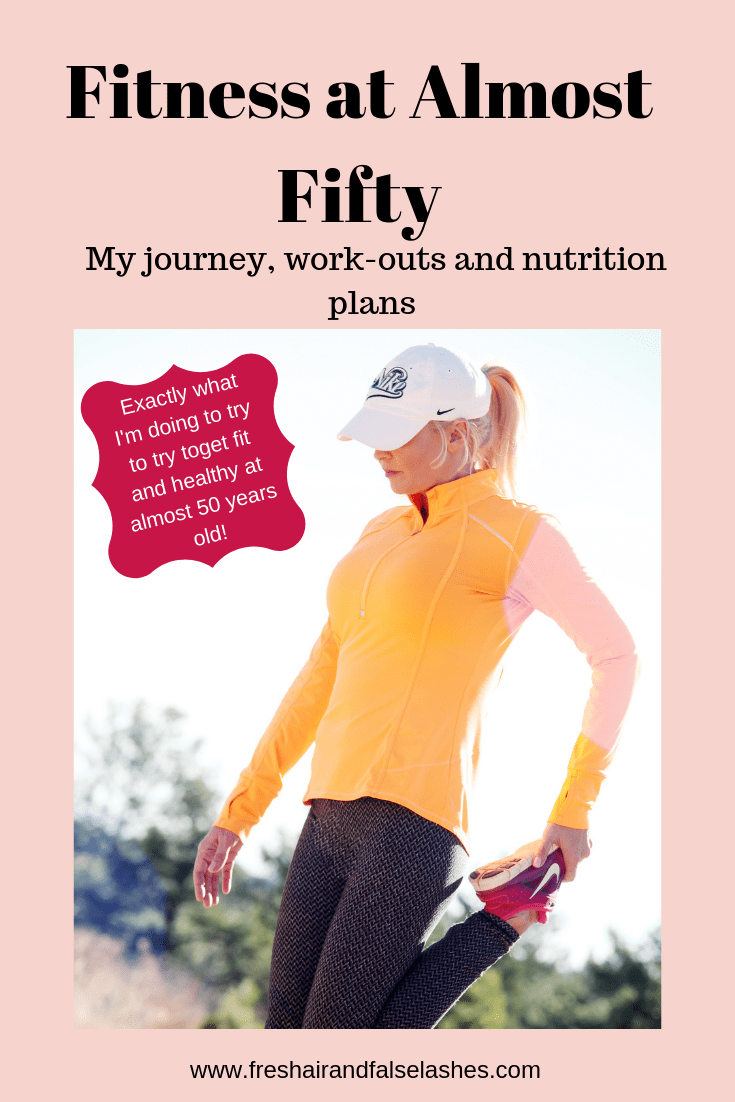 Fitness at fifty. My journey and my exact workouts and nutrition for trying to get fit again at fifty years old.