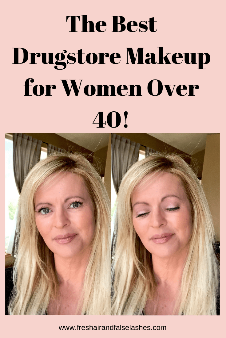 The best drugstore makeup for women over 40.