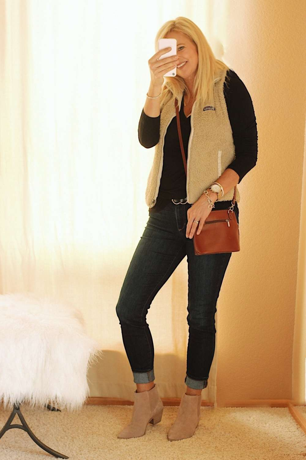 How to style fall booties.