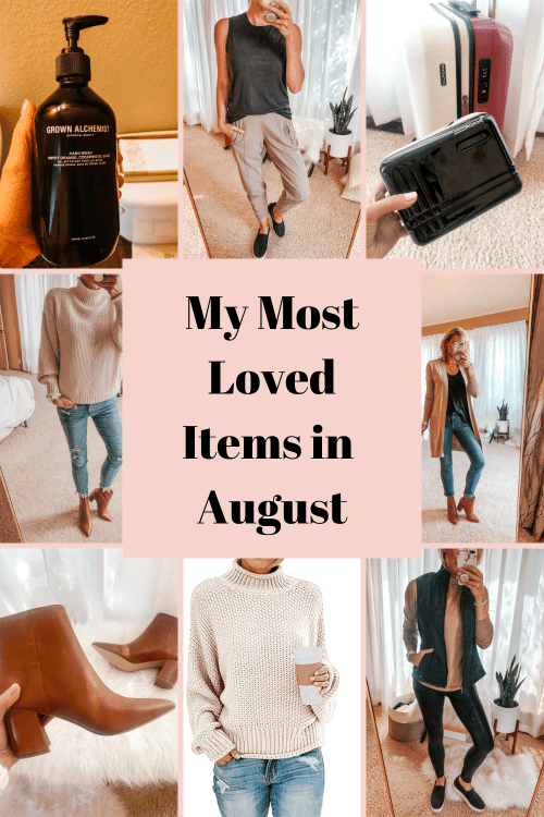 Most loved items in August