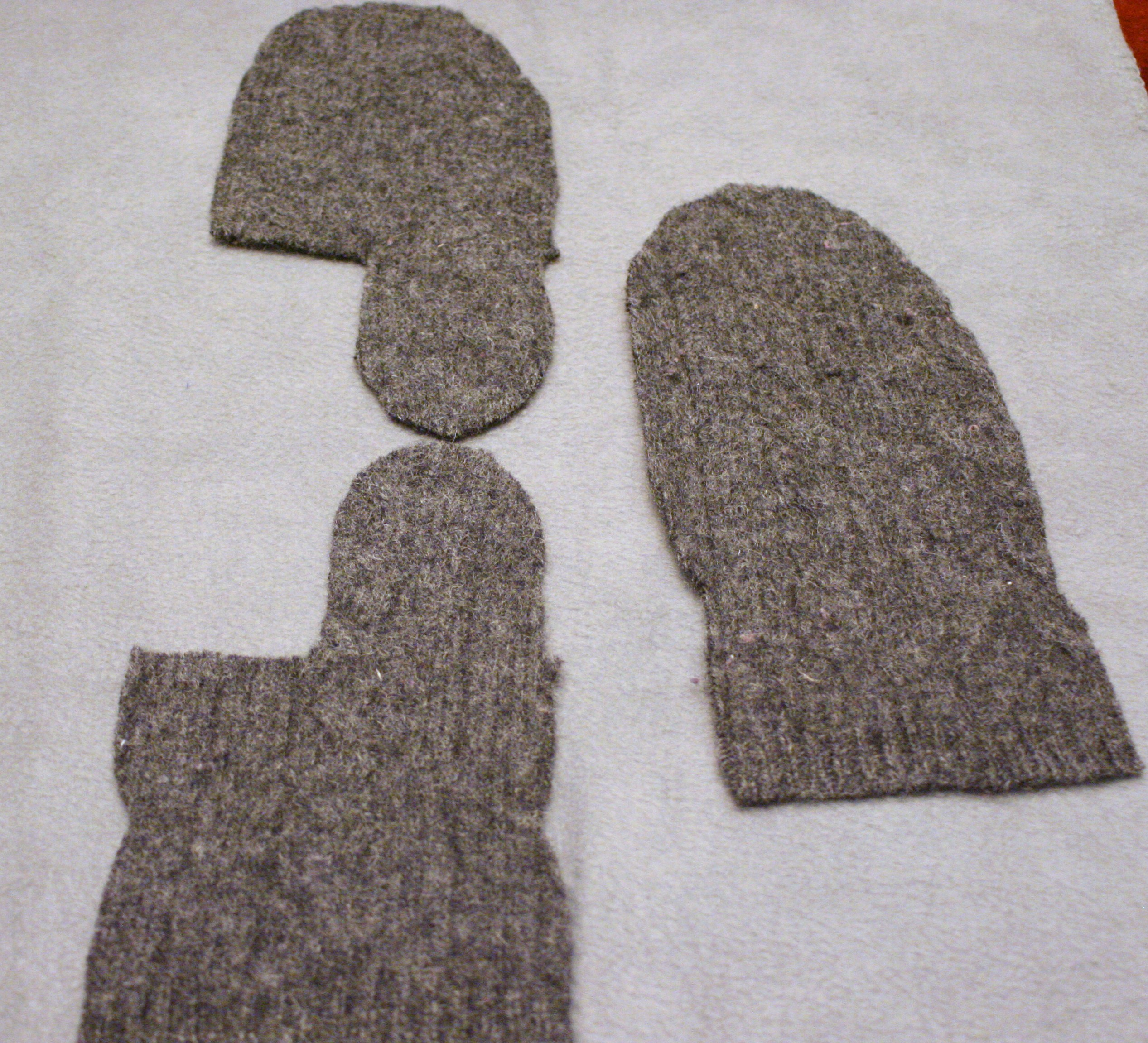 Printable Pattern For The Story Mittens
