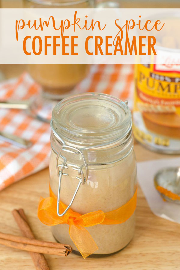 Only 4 ingredients and 5 minutes gets you an all-natural, chemical free pumpkin flavored cup of coffee!