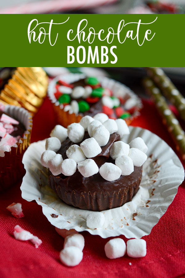 Toss these hot chocolate bombs into a mug of warm milk and you instantly have smooth, creamy, homemade hot chocolate! Add your favorite candies or sprinkles on top to make your hot chocolate even better!