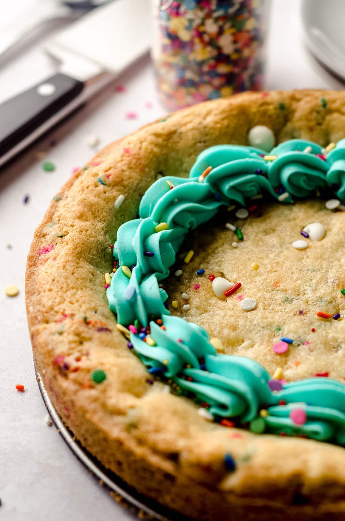 funfetti sugar cookie cake
