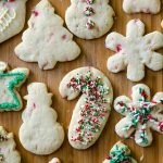 Peppermint Cut-Out Sugar Cookies