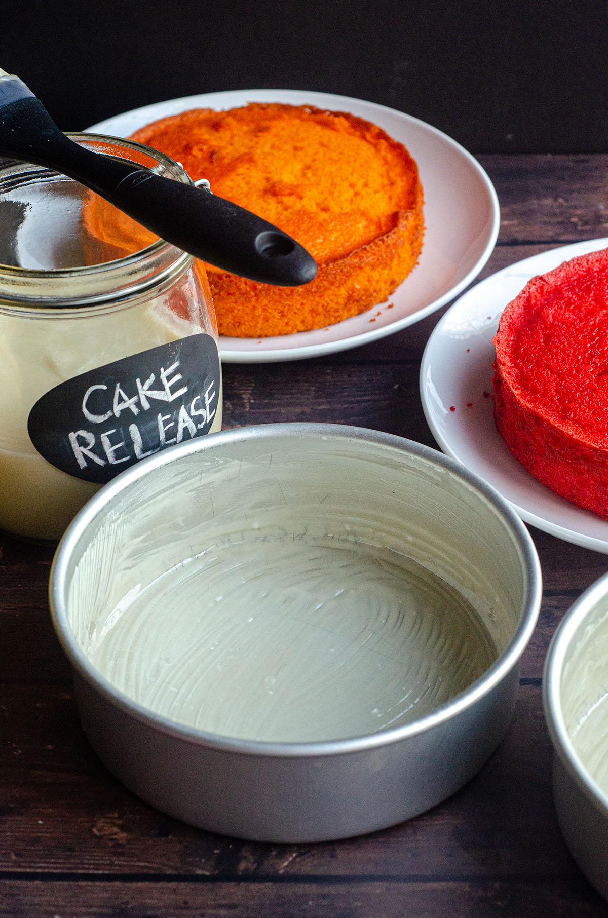 Just 3 ingredients and you'll never have trouble getting your cakes out of the pan again!