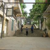 Stairs connecting Beirut neighborhoods