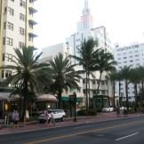 Hotels along Collins Avenue