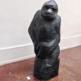 "CutLog: Galerie Les Singuliers (Paris). Sebastien Pasques, ""Gorillas"""