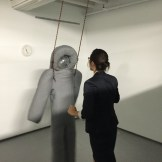 Pedro Reyes interactive at Institute of Contemporary Art, Miami opening