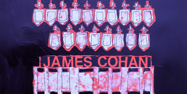 Dani Dodge's poster for James Cohan Gallery, New York, March 2016