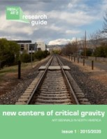 Fresh Art International, Issue 1, Cover, New Centers of Critical Gravity