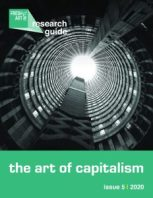 Fresh Art International, Issue 5, Cover, The Art of Capitalism