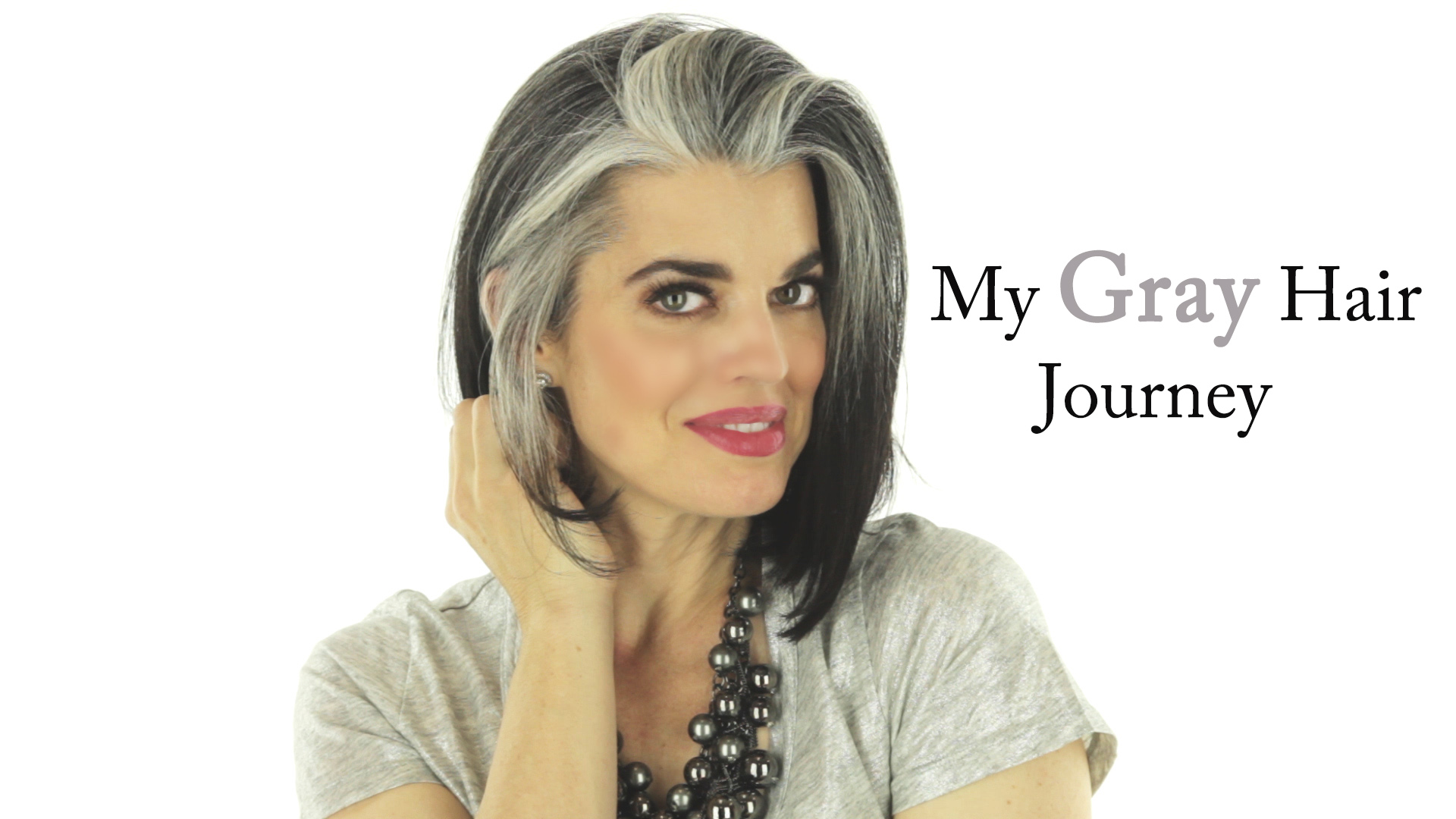 My Gray Hair Journey Fresh Beauty Studio