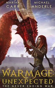 Warmage: Unexpected e-book cover