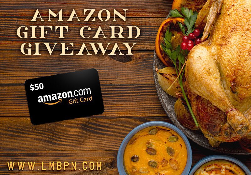 LMBPN Amazon gift card giveaway