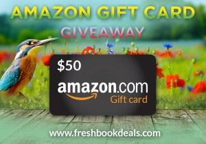 April Gift card giveaway banner