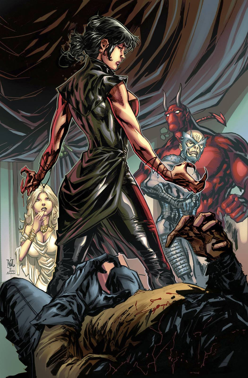 Grimm Fairy Tales Realm War 4 Lashley Cover