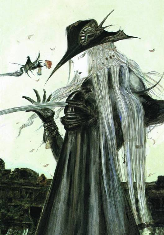 Image result for Vampire Hunter D by Yoshitaka Amano