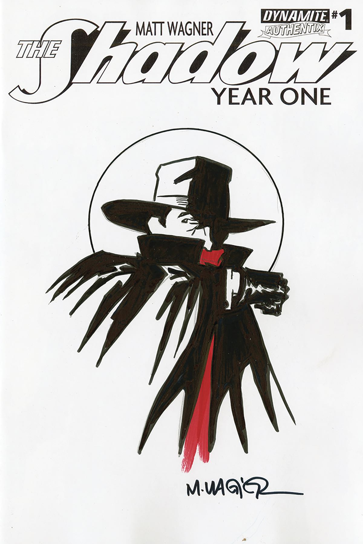 The Shadow Year One 1 Wagner Cover