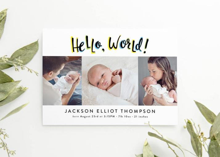 Baby Birth Announcements
