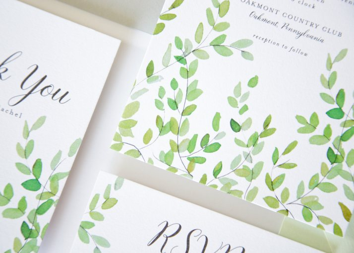 Botanical Wedding Invites