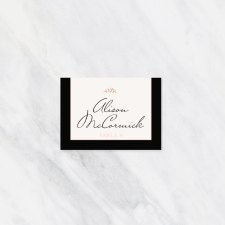 Printed Place Cards