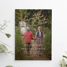 Printed Save the Date Photo Cards
