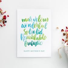 Sentimental Card for Mom