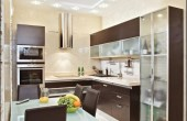 Modern Small Kitchen Built In Cupboards Images