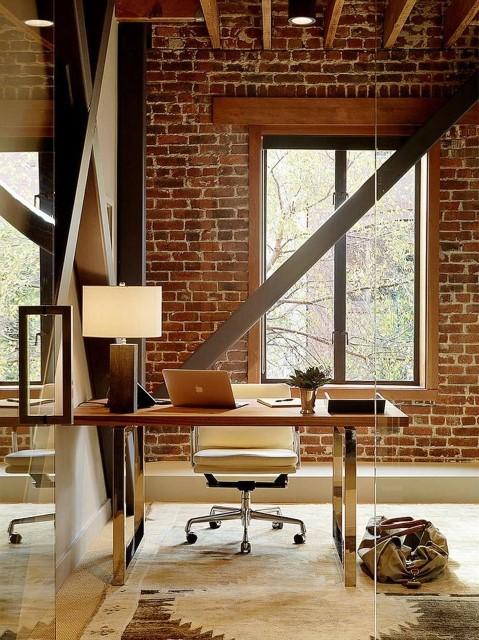 Office Decorating Ideas Modern Brick Boundary Wall Designs