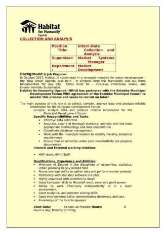 habitat uganda jobs