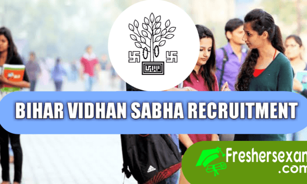 Bihar Vidhan Sabha Various Post Recruitment 2019