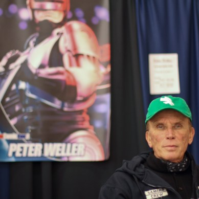 TV Interview: Peter Weller Sinks His Teeth Into 'The Strain'