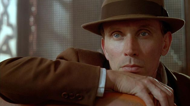 Peter Weller as Bill Lee in David Cronenberg's NAKED LUNCH.